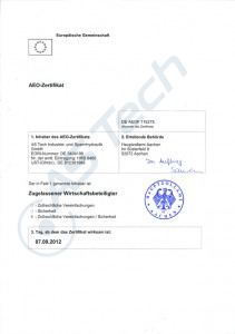 aeo-zertifikat
