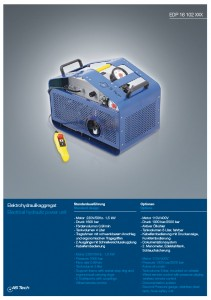 elektrohydraulikaggregat