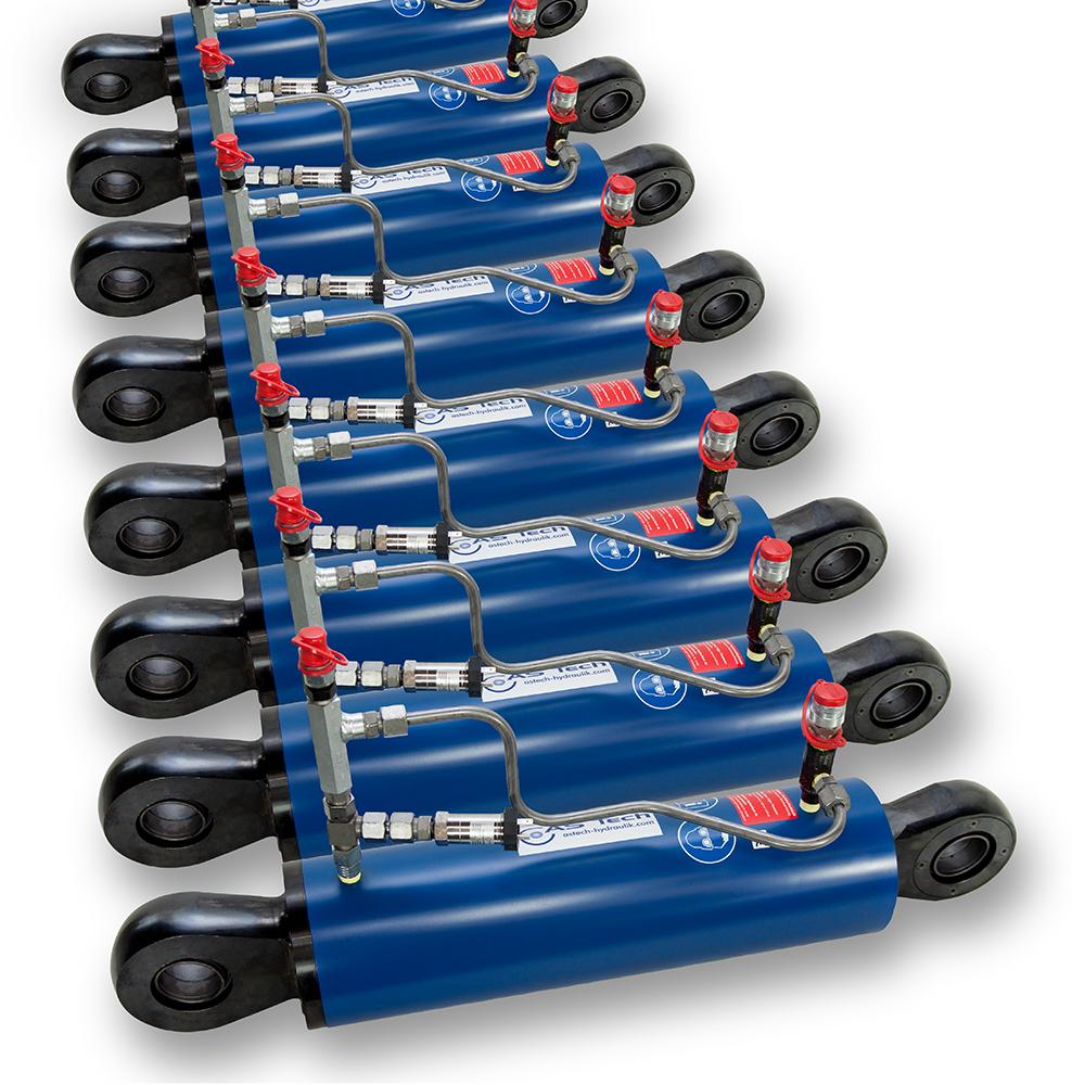 AS Tech Hydraulikzylinder und -komponenten