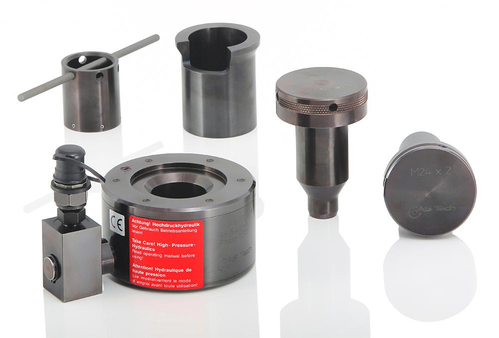 AS Tech Einstufige Schraubenspannvorrichtung mit austauschbarem Zugelement